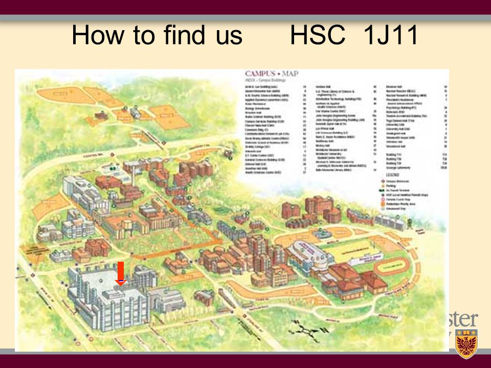 How to find us HSC 1J11 [Printable.